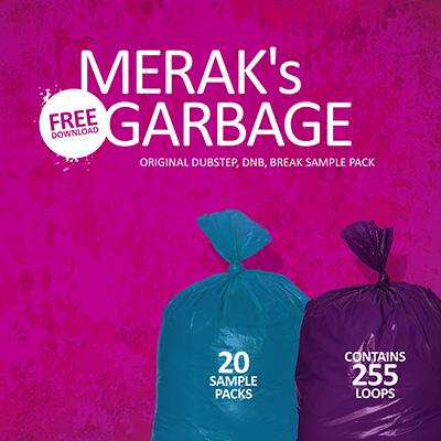 MERAK´s Garbage Sample Pack | Synthmob